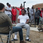 Host Zach Goldbaum and rapper Kendrick Lamar, NOISEY (CNW Group/Rogers Media)