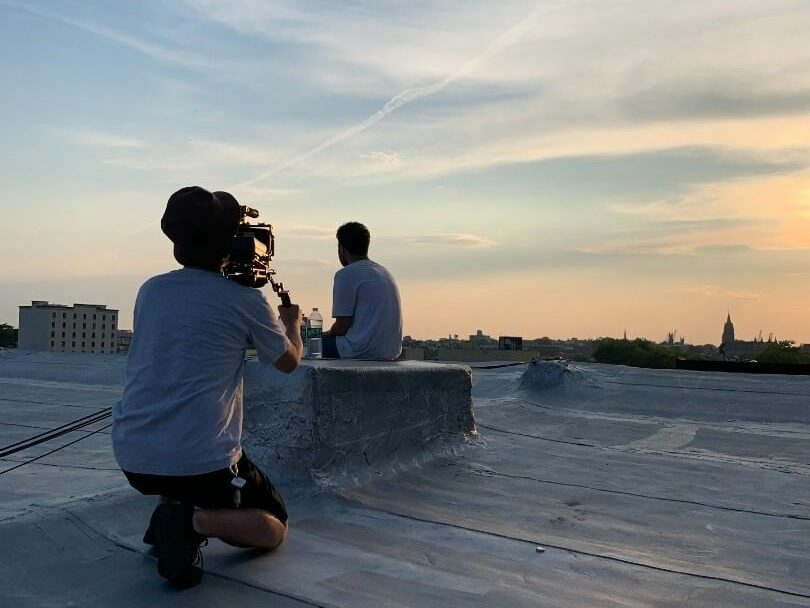 Ryosuke Tanzawa filming rapper Wiki.
